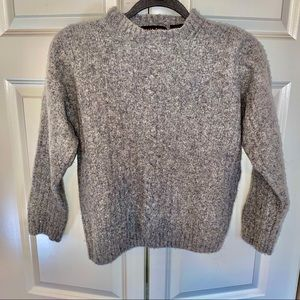 XS gray sweater